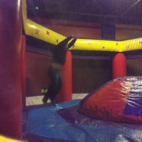 Photo taken at Pump It Up by Connie D. on 1/18/2014