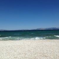 Photo taken at Παραλία Ζούμπερι by George L. on 6/22/2013