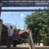 Photo taken at Taman Warisan Pertanian by [ mR_G ] on 5/8/2016