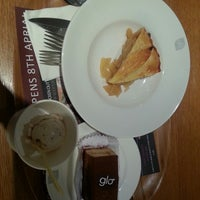 Photo taken at glo London Bakery Café by Yuan X. on 5/21/2013