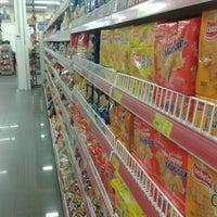Photo taken at Supermercado Myatã Coral by Ricardo Alexandre O. on 12/22/2013