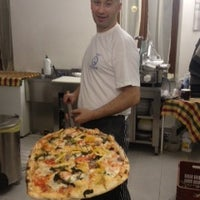 Photo taken at Biancaneve Di Rezar Halili - Pizzeria Da Asporto by Massimiliano N. on 3/31/2013