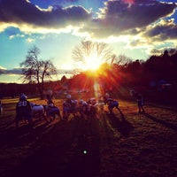 Photo taken at Lincoln County Football Field by Tiffany M. on 11/7/2013
