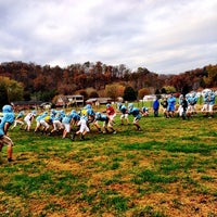 Photo taken at Lincoln County Football Field by Tiffany M. on 10/31/2013