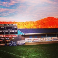 Photo taken at Lincoln County Football Field by Tiffany M. on 11/5/2013