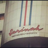 Photo taken at Sarinah by thomas f. on 10/28/2012