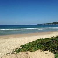 Photo taken at Praia do Mariscal by Zahra G. on 6/10/2013