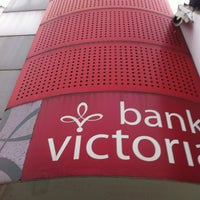 Photo taken at Bank Victoria by V-Lix K. on 7/15/2013