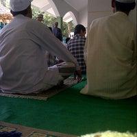 Photo taken at Masjid Al-Barokah by Roy t. on 4/19/2013