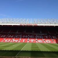 Photo taken at Manchester United Museum & Tour Centre by Viratida S. on 5/1/2013