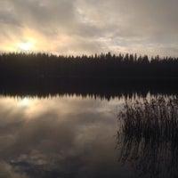 Photo taken at Ali-Heinijärvi by Mia H. on 1/5/2014