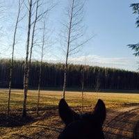 Photo taken at Ali-Heinijärvi by Mia H. on 4/17/2014