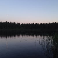 Photo taken at Ali-Heinijärvi by Mia H. on 7/8/2014