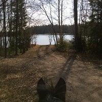 Photo taken at Ali-Heinijärvi by Mia H. on 4/18/2014