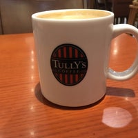 Photo taken at Tully's Coffee by Yutaka M. on 3/4/2017