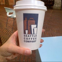 Photo taken at Seattle Coffee Company by Carla S. on 12/12/2013