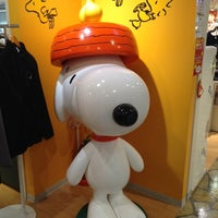 Photo taken at Snoopy Town Shop by Yukari I. on 2/9/2014