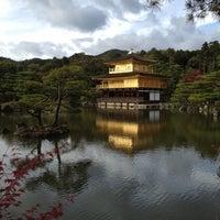 Photo taken at Kinkaku-ji Temple by Juhee S. on 11/10/2012