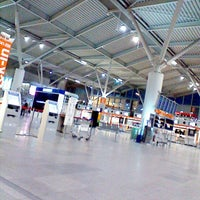 Photo taken at Warsaw Chopin Airport (WAW) by 😼 Kocour J. on 5/31/2013