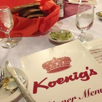 Photo taken at Victor Koenig's Restaurant by Allison F. on 4/1/2013