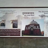 Photo taken at Tughlaqabad Metro Station by Subir D. on 2/3/2013