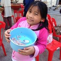 Photo taken at วัดทองพุ่มพวง by ChaiYasit P. on 12/22/2013