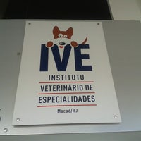 Photo taken at IVE - Instituto Veterinário de Especialidades by Júlia P. on 8/19/2013