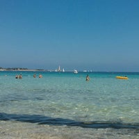 Photo taken at San Vito Lo Capo by Giuseppe C. on 7/24/2013