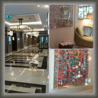 Photo taken at Mercure İstanbul Taksim by Tulay A. on 6/23/2014