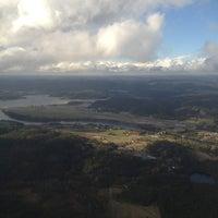 Photo taken at Kristiansand Lufthavn, Kjevik (KRS) by Christian S. on 10/12/2012