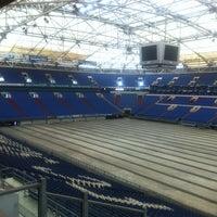 Photo taken at Glückauf-Club VELTINS-Arena by Mark F. on 4/16/2013