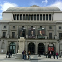 Photo taken at Plaza de Isabel II by Rld_ G. on 3/23/2013