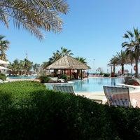 Photo taken at Mövenpick Hotel & Resort Al Bida'a by HƒK on 3/21/2013