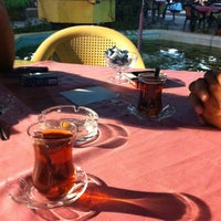Photo taken at 100. Yıl Aile Çay Bahçesi by Engin T. on 7/13/2013