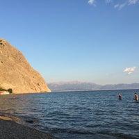 Photo taken at Παραλία Κρυονερίου by tassos k. on 9/3/2016