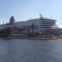 Photo taken at M/S ROMANTIKA | Tallink Ferry by Vadim G. on 8/23/2013