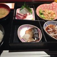 Photo taken at 魚屋の居酒屋 日本橋魚錠 by Mikan M. on 6/12/2014
