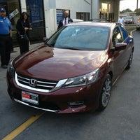 Photo taken at DCH Honda of Gardena by Erick J. on 8/17/2013