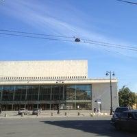 Снимок сделан в БКЗ «Октябрьский» пользователем Владислав Б. 8/7/2013