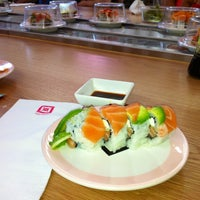 Photo taken at sushigami by Rachel R. on 4/20/2013
