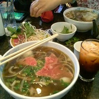 Photo taken at Phở Kim Long by Terry C. on 4/14/2013