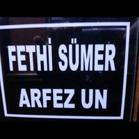 Photo taken at FETHİ SÜMER-ARFEZ UN by Sergen S. on 5/10/2014