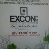 Photo taken at EXCON 2013 by Allinson I. on 10/4/2013