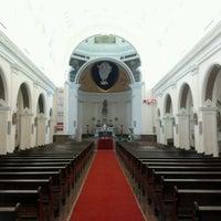 Photo taken at Catedral Metropolitana de Nossa Senhora da Ponte by Wesley Carlos on 11/24/2012