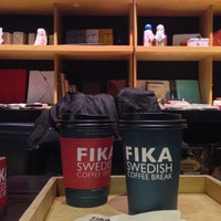 Photo taken at FIKA Swedish Coffee Break by owa on 12/26/2014