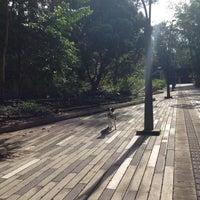 Photo taken at Parque Ambiental Bosques de La Frontera by Juan Z. on 8/27/2014