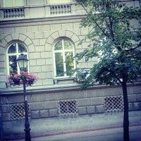 Photo taken at Magistratski trg by Milena P. on 7/6/2014