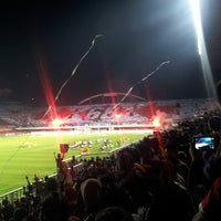 Photo taken at Stadion Maguwoharjo by Dyan S. on 8/15/2013