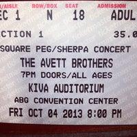 Photo taken at Kiva Auditorium by David M. on 10/5/2013
