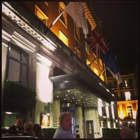 Photo taken at London Marriott Hotel Grosvenor Square by shatha1984 on 6/20/2013